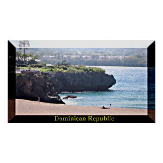 The Dominican Republic Beaches Poster