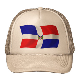 The Dominican Republic Flag Hat