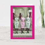 The Domino Girls Card