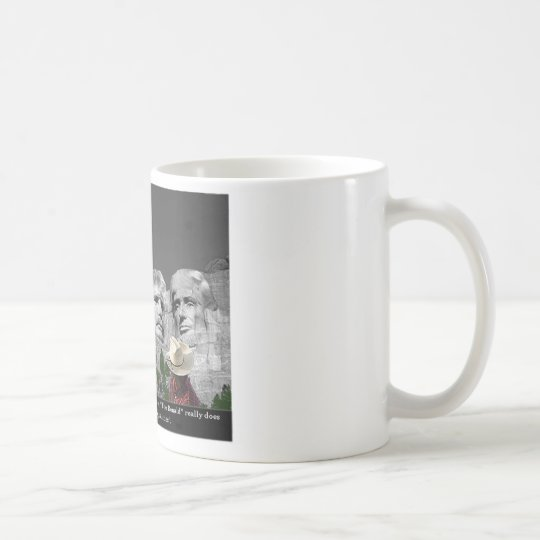 """The Donald's Presidental Qualities"" Coffee Mug"