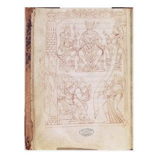 The Donation to Richard II Postcard