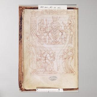 The Donation to Richard II Print