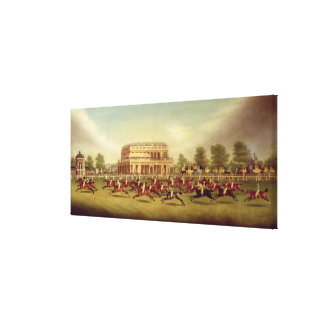 The Doncaster St. Leger of 1812 - The Finish (afte Stretched Canvas Print