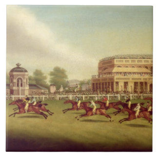 The Doncaster St. Leger of 1812 - The Finish (afte Tile
