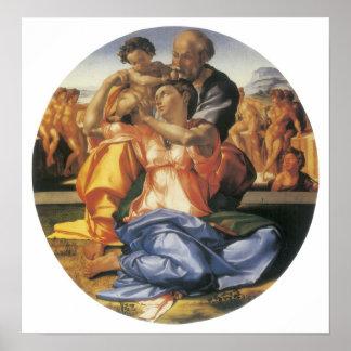 The Doni Tondo, c. 1503-04 Print