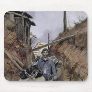 The Donkey, Somme, 1916 Mouse Pad