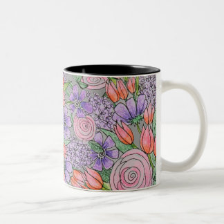 The Donna Spring Bouquet Coffee Mug