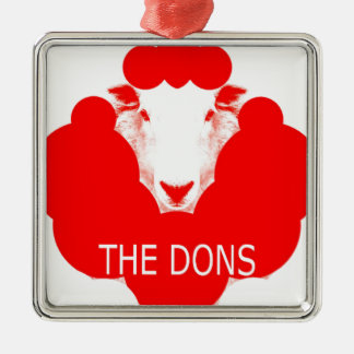 THE DONS METAL ORNAMENT