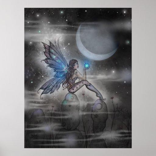 The Doodler Mystical Fairy Poster Print