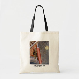 The Doomsday Detail By Giotto Di Bondone Tote Bags