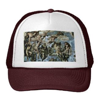 The Doomsday Fresco On The Altar Wall Of The Sisti Trucker Hats