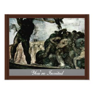The Doomsday Fresco On The Altar Wall Of The Sisti Invitations