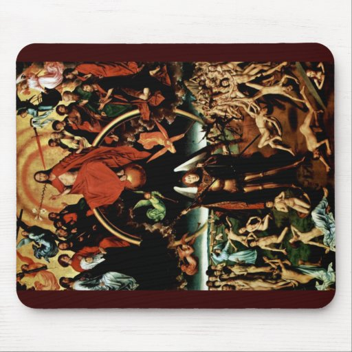 The Doomsday Weighs Triptych Central Panel Mouse Pad