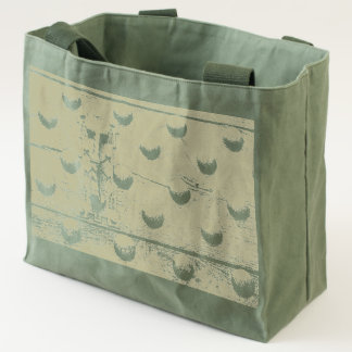 the door of  castle on  canvas utility tote