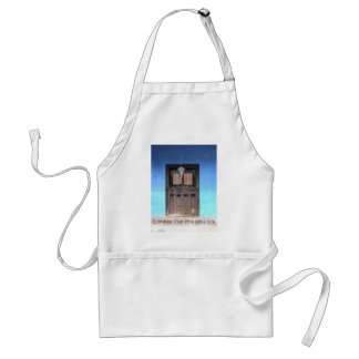 The Door of Opportunity Adult Apron