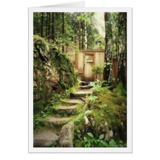 The Door to Eliot Mountain Greeting Card