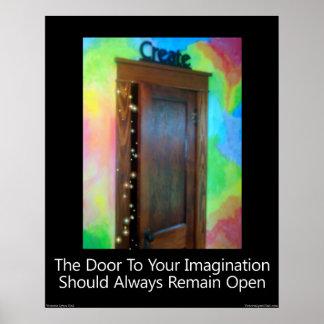 """""""The Door To Your Imagination"""" Print"""