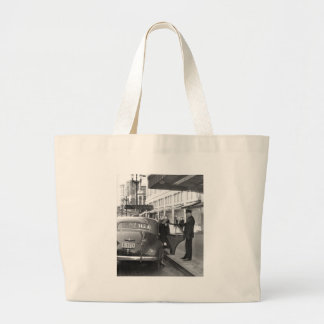 The Doorman at Frederick & Nelson Large Tote Bag