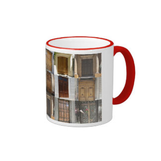 The Doors of Buenos Aires Ringer Coffee Mug