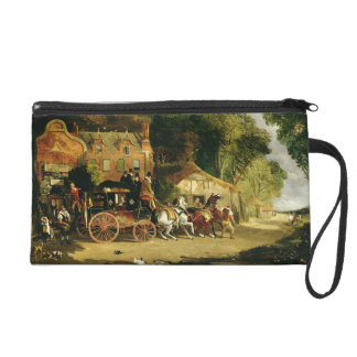 The Dorking and London Royal Mail leaving the 'Mar Wristlet Purse