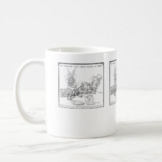The Dormouse Falls Asleep Mug