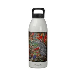 The Dormouse Speaks Up Water Bottles