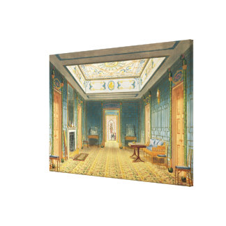 The Double Lobby or Gallery South above the Corr Stretched Canvas Prints