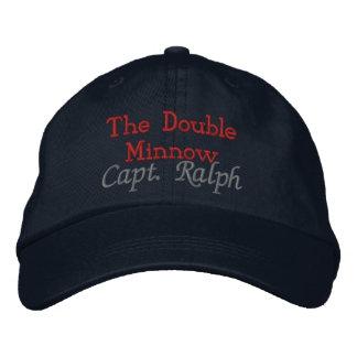 The Double Minnow, Capt. Ralph - Customized Cap