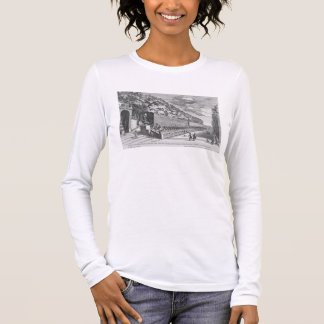 The double Terrace of One Hundred Fountains at Vil Long Sleeve T-Shirt
