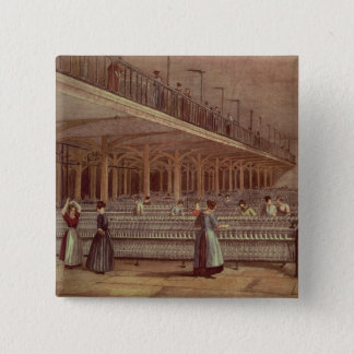 The Doubling Room, Dean Mills, 1851 Pinback Button