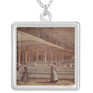 The Doubling Room, Dean Mills, 1851 Silver Plated Necklace