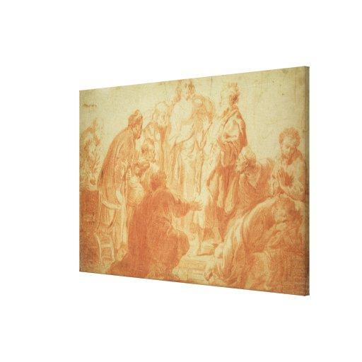 The Doubting Thomas Gallery Wrapped Canvas