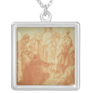 The Doubting Thomas Square Pendant Necklace