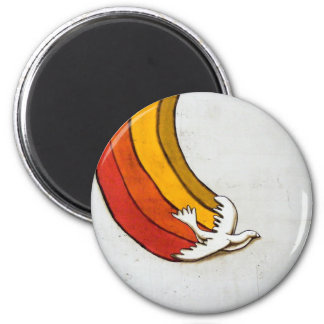 The Dove 2 Inch Round Magnet