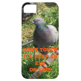 The dove is watching you! iPhone SE/5/5s case