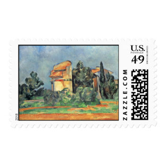 The Dovecote At Bellevue By Paul Cézanne Postage Stamps