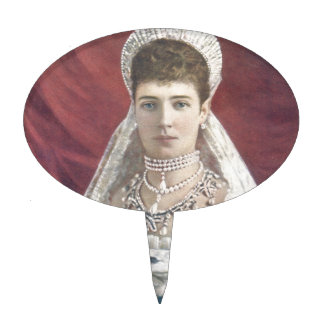 The Dowager Empress Of Russia Cake Topper