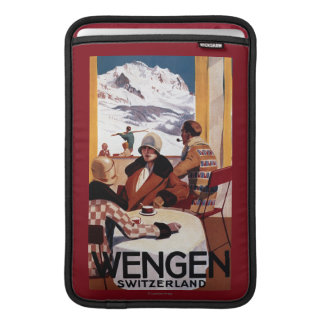 The Downhill Club Promotional Poster MacBook Air Sleeve
