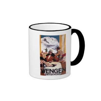 The Downhill Club Promotional Poster Coffee Mug