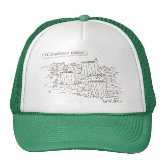 The downsized foret trucker hat