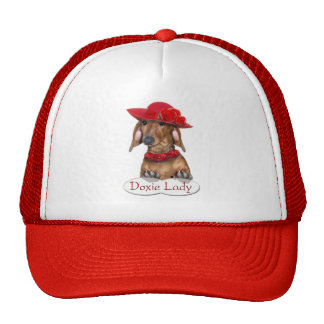 The Doxie Lady Cap Mesh Hats