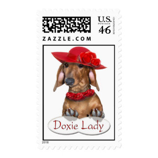 The Doxie Lady Stamp