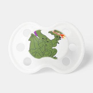 The DRAGON BIG-TIME GAMBLER 1.PNG Baby Pacifier