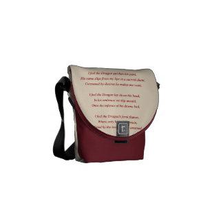 The Dragon Courier Bag