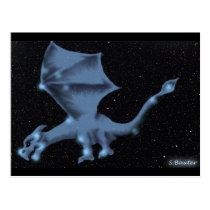 The Dragon in the Draco constellation Postcard