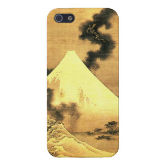 The Dragon of Smoke Escaping from Mt Fuji Case For iPhone SE/5/5s