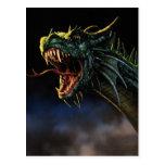 The dragon of the Log Born - Postcard