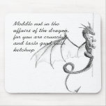 The Dragon Page Mouse Mat