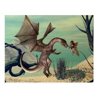 The dragon postcard