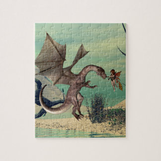 The dragon jigsaw puzzles